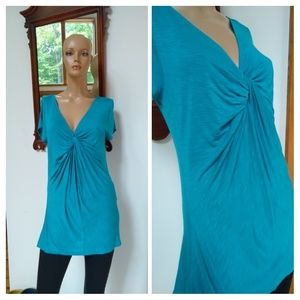 ⭐New Listing ⭐ a.n.a. size large turquoise tunic